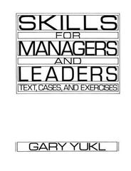 Skills for Managers and Leaders 1st edition 9780135565643 0135565642