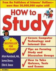 How to Study 5/e 5th Edition 9780071406079 0071406077