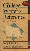The College Writer's Reference 2nd edition 9780130807687 0130807680