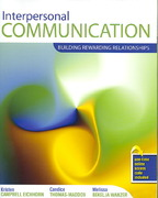 Interpersonal Communication 1st Edition 9780757541100 0757541100