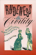 Rudeness and Civility 1st Edition 9780374522995 0374522995