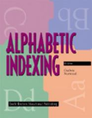 Alphabetic Indexing (with Workbook) 6th Edition 9780538669269 0538669268