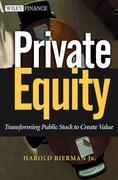 Private Equity 1st edition 9780471392927 0471392928