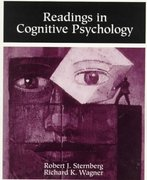 Readings in Cognitive Psychology 1st edition 9780155041059 0155041053