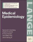 Medical Epidemiology 4th Edition 9780071416375 0071416374