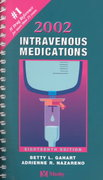 2002 Intravenous Medications 18th edition 9780323009850 0323009859