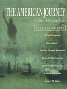 The American Journey 1st edition 9780136520337 0136520332