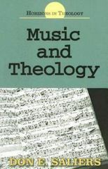 Music and Theology 1st Edition 9780687341948 0687341949
