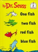 One Fish Two Fish Red Fish Blue Fish 0 9780394900131 0394900138