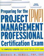 Preparing for the Project Management Professional Certification Exam 3rd edition 9780814408599 0814408591