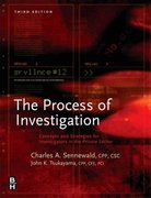 The Process of Investigation 4th Edition 9780128006436 0128006439