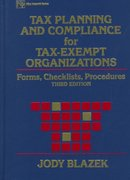 Tax Planning and Compliance for Tax-Exempt Organizations 3rd edition 9780471293804 0471293806