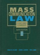 Mass Communication Law 6th edition 9780314202215 0314202218