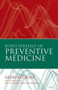 Rose's Strategy of Preventive Medicine 2nd Edition 9780192630971 0192630970