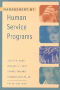 Management of Human Service Programs 3rd edition 9780534368869 0534368867