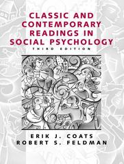 Classic and Contemporary Readings in Social Psychology 3rd edition 9780130873668 0130873667