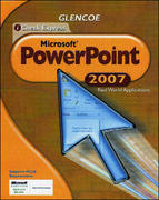 iCheck Series: Microsoft Office 2007, Real World Applications, PowerPoint, Student Edition 1st edition 9780078802676 0078802679
