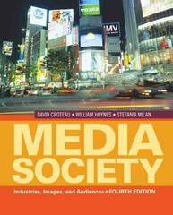 Media/Society 4th edition 9781412974202 1412974208