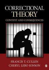 Correctional Theory 1st Edition 9781412981804 1412981808