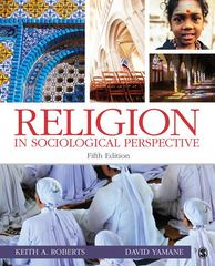 Religion in Sociological Perspective 5th edition 9781412982986 1412982987