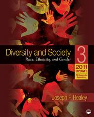 Diversity and Society 3rd edition 9781412994330 1412994330