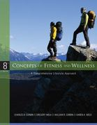 Concepts of Fitness and Wellness: A Comprehensive Lifestyle Approach w/ Health and Fitness Pedometer 8th edition 9780077491857 0077491858
