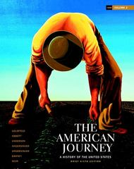 The American Journey 6th edition 9780205010592 0205010598