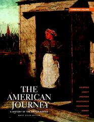 American Journey, The: Brief Edition Combined Volume 6th edition 9780205010615 020501061X