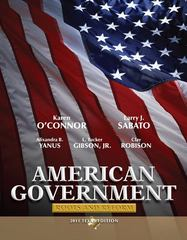 American Government 6th edition 9780205825844 0205825842
