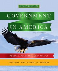 Government in America 11th edition 9780205826087 0205826083