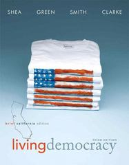 Living Democracy, Brief California Edition 3rd edition 9780205827664 0205827667