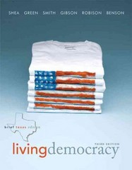 Living Democracy,  Brief Texas Edition 3rd edition 9780205827671 0205827675