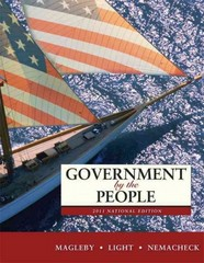 Government by the People, 2011 National Edition 24th edition 9780205828401 020582840X
