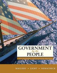 Government by the People, 2011 National, State, and Local Edition 24th edition 9780205828432 0205828434