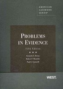 Problems in Evidence, 5th 5th Edition 9780314198891 031419889X