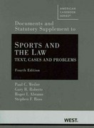Sports and the Law 4th Edition 9780314911636 0314911634