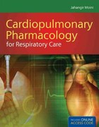 Cardiopulmonary Pharmacology for Respiratory Care 1st Edition 9781449615604 1449615600