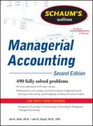 Schaum's Outline of Managerial Accounting, 2nd Edition 2nd Edition 9780071762526 0071762523