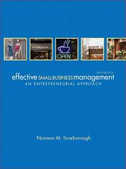 Effective Small Business Management 10th Edition 9780132157469 0132157462