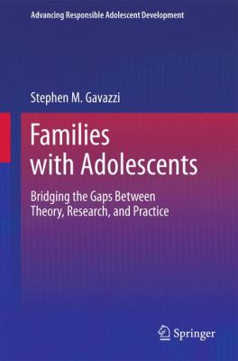 Families with Adolescents 1st Edition 9781441982452 1441982450