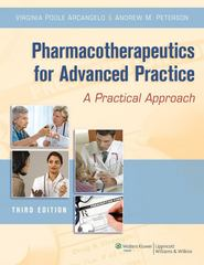 Pharmacotherapeutics for Advanced Practice 3rd Edition 9781451111972 1451111975