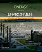 Energy and The Environment 2nd Edition 9780199765133 0199765138