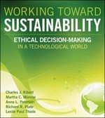 Working Toward Sustainability 1st Edition 9781118106037 1118106032