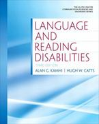 Language and Reading Disabilities 3rd Edition 9780137072774 0137072775