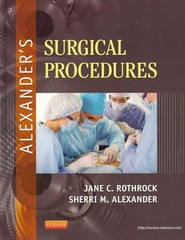 Alexander's Surgical Procedures 1st edition 9780323075558 032307555X