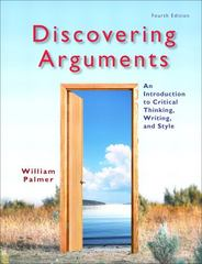 Discovering Arguments 4th Edition 9780205834457 0205834450