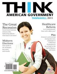 Think American Government, 2011 Edition 3rd edition 9780205030156 0205030157