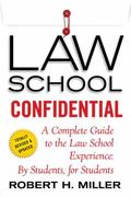 Law School Confidential 1st Edition 9781250107879 1250107873