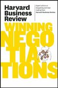 Harvard Business Review on Winning Negotiations 1st Edition 9781422162576 1422162575