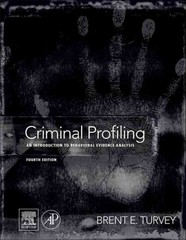 Criminal Profiling 4th Edition 9780123852434 0123852439